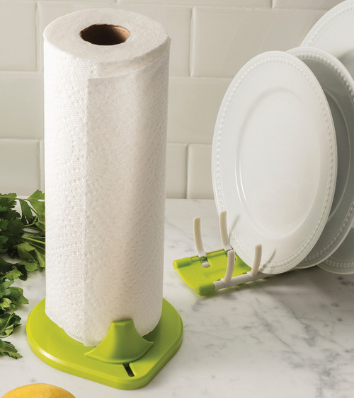 Compact Paper Towel Holder With Low Profile