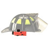 Streamlight Vantage 180 LED Flashlight - Simulated mounted view