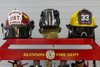 The BACKDRAFT 1000 Turnout Gear Dryer - Top - dries two helmets simultaneously