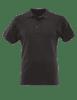 Tru-Spec Men's Short Sleeve Classic 100% Cotton Polo - Black