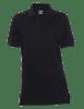 Tru-Spec Women's Short Sleeve Classic 100% Cotton Polo in Black