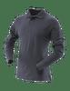 Tru-Spec Men's Long Sleeve Classic 100% Cotton Polo - Navy