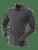 Tru-Spec Men's Long Sleeve Classic 100% Cotton Polo - Black
