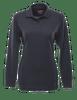 Tru-Spec Women's Long Sleeve Classic 100% Cotton Polo - Navy