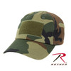 Tactical Operator's Hat - Woodland Camo