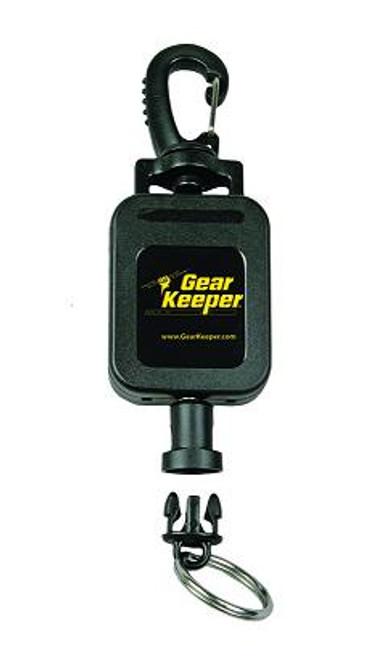Gear Keeper Medium Flashlight Retractor w/ Heavy Duty Snap Clip