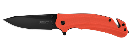 Kershaw Barricade Spring Assisted Rescue Knife - Open