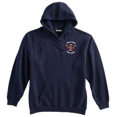 Pennant Super 10 Pullover Hoodie Navy