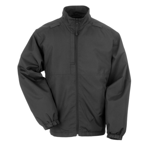Lined Packable Jacket - Black (019)