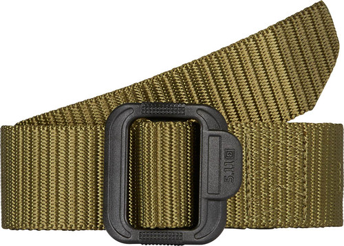 "5.11 Tactical 1.5"" TDU Nylon Web Belt w/ Plastic Buckle - TDU Green (190)"