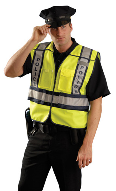 Premium Solid Public Safety Vest - Police