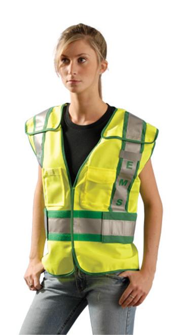Premium Solid Public Safety Vest - EMS