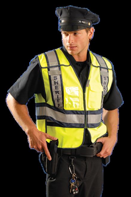 Premium Solid Public Safety Vest - Sheriff