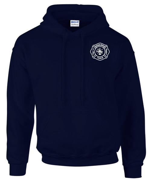 Custom Gildan Hooded Sweatshirt - Navy