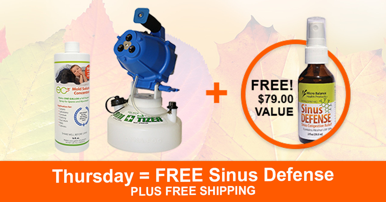 Thursday 11/22/2018 -- FREE Sinus Defense ($79 Value)