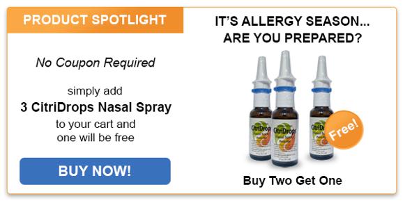 3 Citridrops Nasal Spray
