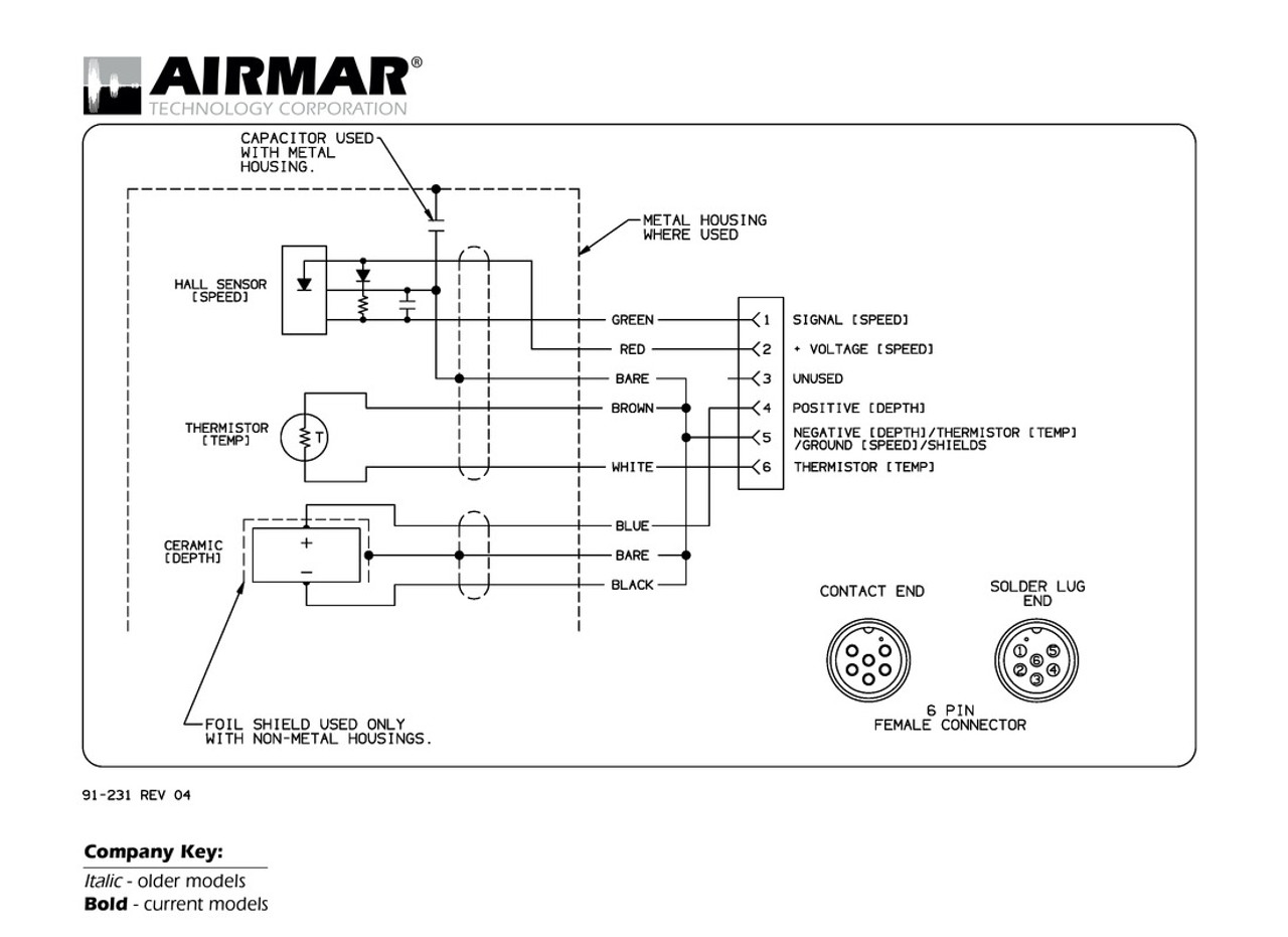 airmar wiring diagram garmin 6 pin s d t blue bottle marine rh  bluebottlemarine com