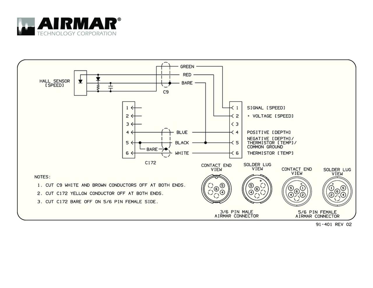Airmar Wiring Diagram Garmin 6 Pin  S
