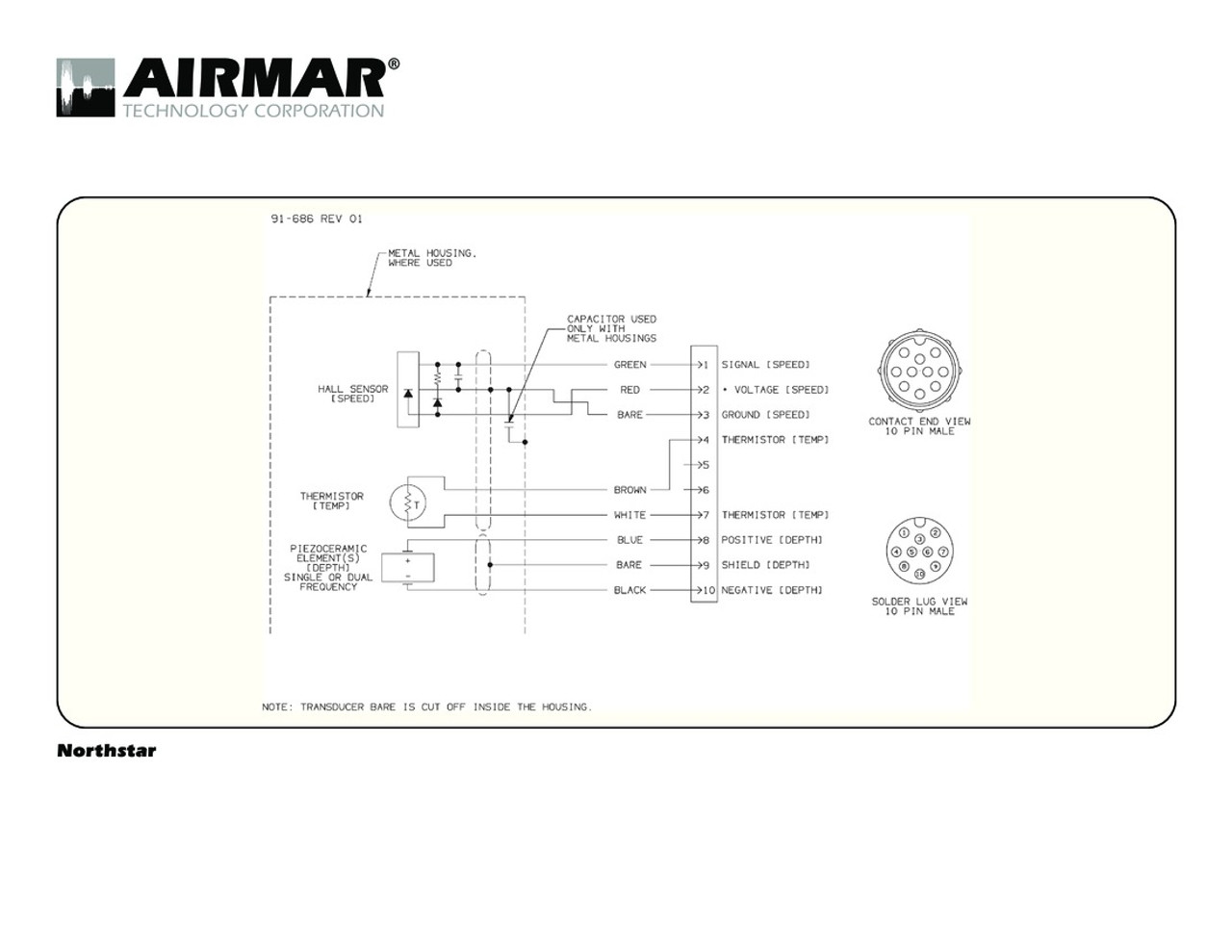airmar wiring diagram northstar 600w 10 pin blue bottle marine rh bluebottlemarine com