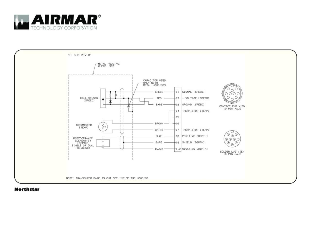 airmar wiring diagram northstar 600w 10 pin blue bottle marine rh bluebottlemarine com
