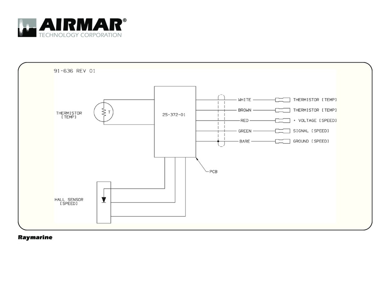 airmar wiring diagram raymarine iso blue bottle marine rh bluebottlemarine com Residential Electrical Wiring Diagrams Basic Electrical Wiring Diagrams