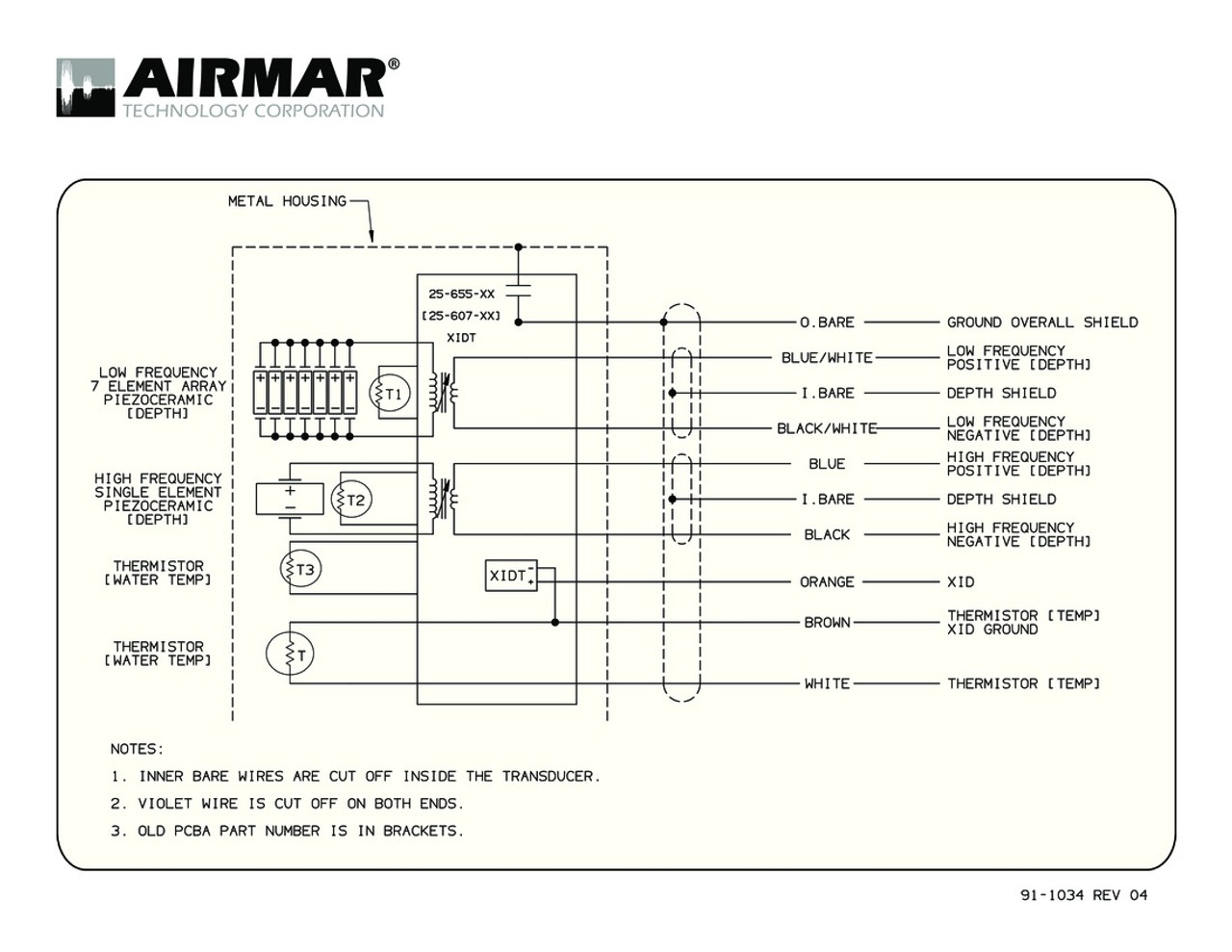 Airmar Wiring Diagrams Another Blog About Diagram Corbeil B265 B275 Blue Bottle Marine Rh Bluebottlemarine Com