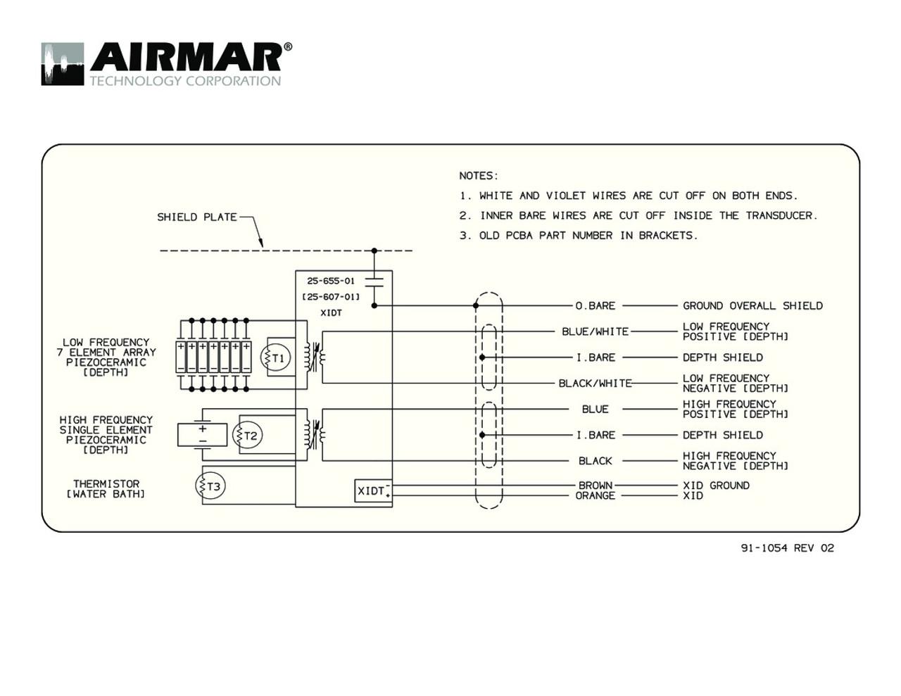 WRG-3991] Humminbird Transducer Wiring Diagram on