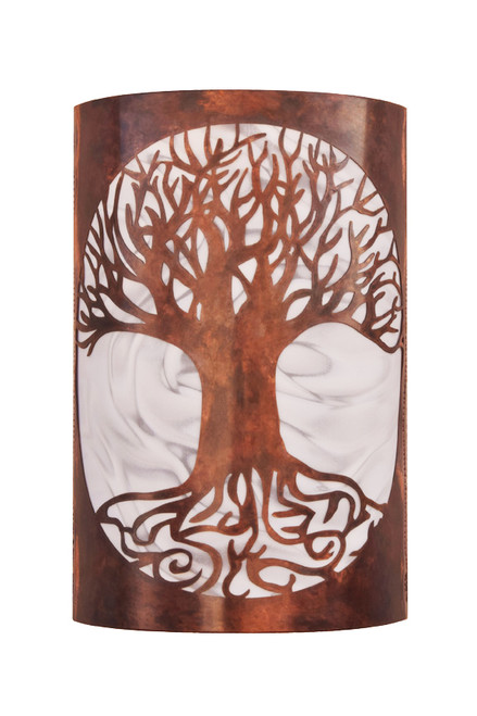Tree of life wall sconce light aloadofball Image collections