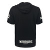 2018 Warriors NRL Mesh Short Sleeve Cotton Hooded Tee