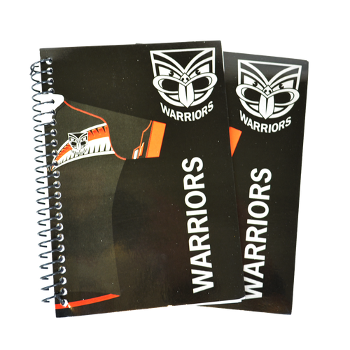Set of 2 Warriors Notebooks
