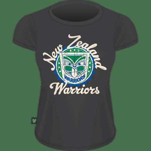 Warriors Womens Heritage Tee - Slate