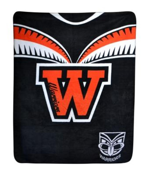 Warriors Polar Fleece Blanket