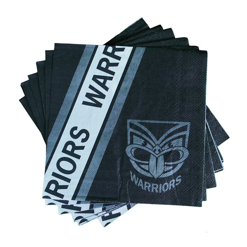 Warriors 12 Pack Party Napkins