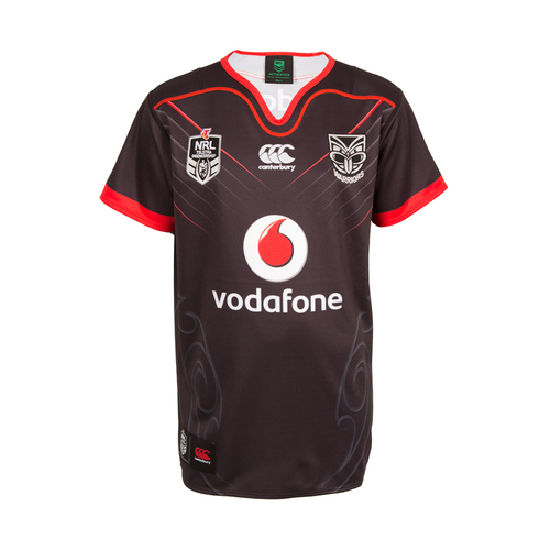 2017 Vodafone Warriors CCC Home Jersey - Kids