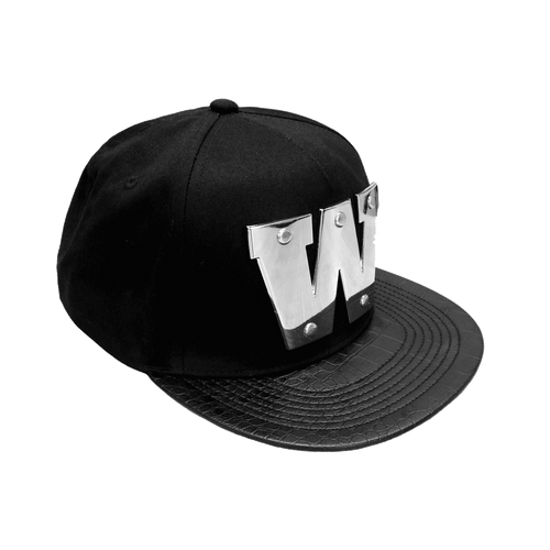 2017 Warriors NRL Metallic Flat Peak Cap