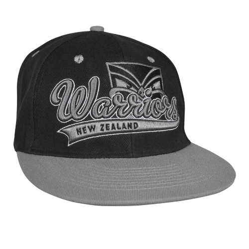 2016 Warriors Junior Flat Peak Cap