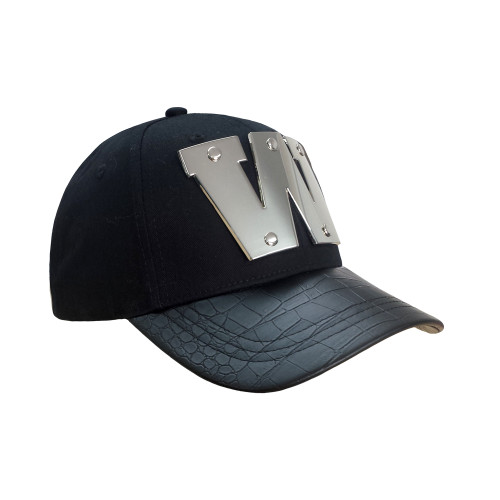 2017 Warriors Supporter Metallic Curve Peak Cap