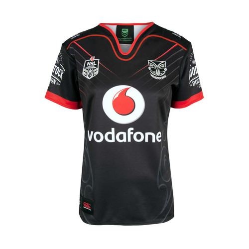 2018 Vodafone Warriors CCC Home Jersey - Womens