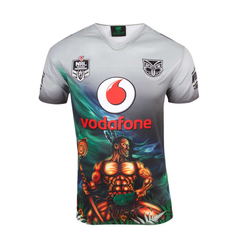 2018 Vodafone Warriors CCC Indigenous Jersey - Adults
