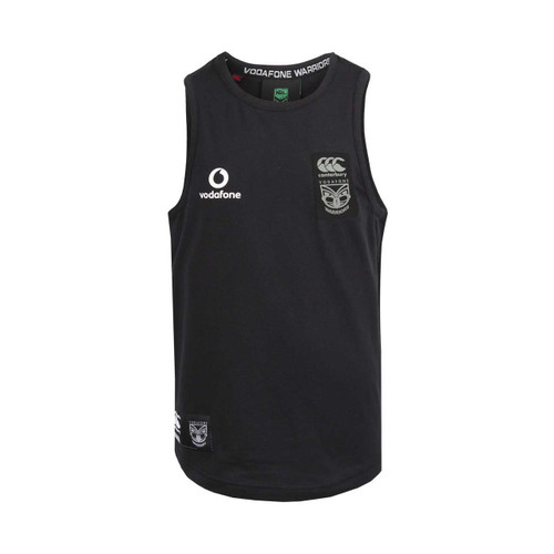 2018 Vodafone Warriors CCC Long Line Singlet - Kids