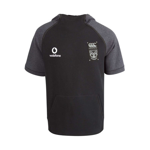 2018 Vodafone Warriors CCC Short Sleeve Hoodie