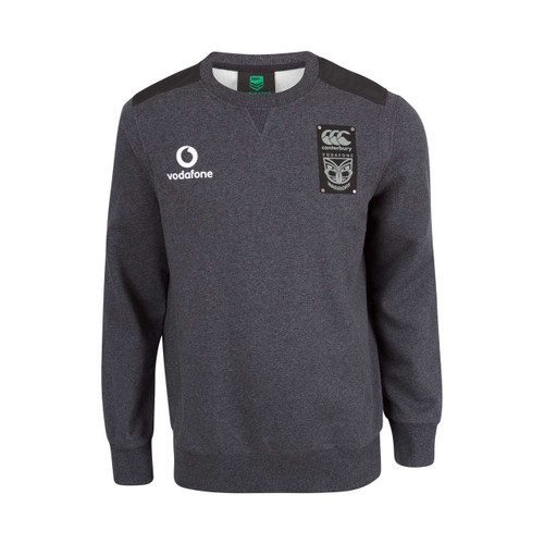 2018 Vodafone Warriors CCC Fleece Crew Jumper