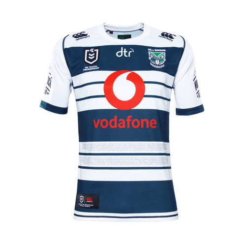 2019 Vodafone Warriors CCC Heritage Jersey - Adults