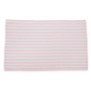 Low Lint Red Stripe Glass Towel (1 dozen)