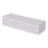 12x12 White Economy Wash Cloth