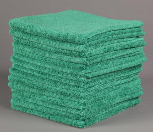 Green Microfiber Towel: 16x16 Blue Microfiber Towels