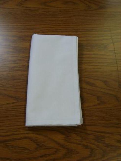 21x21 White Cotton Napkin