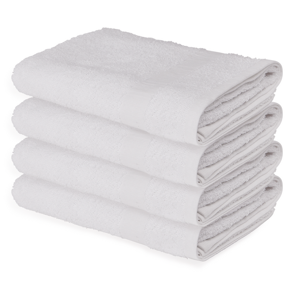 22x44 White Economy Bath Towel Bulk Towels