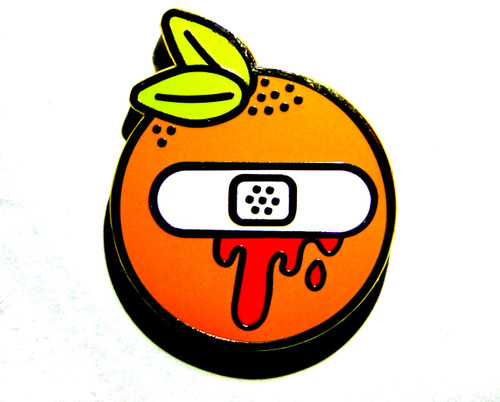 Blood Orange Pin