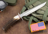 Randall Made Knives: Model 1-7 All Purpose Fighting Knife - Stag - Stainless Steel #2